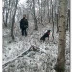 Marcus og jerry sporar hjort -postrekka sov......